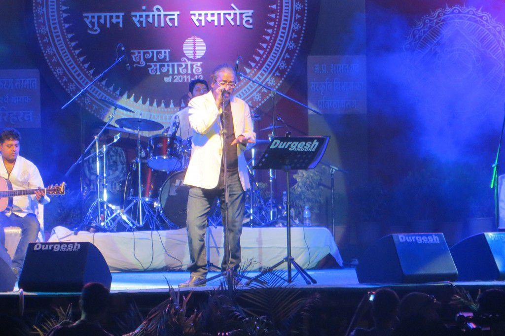 Hariharan Concert at Lata Alankarran event in Indore