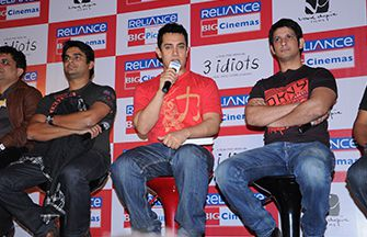 Amir Khan promotes 3 Idiots in Indore