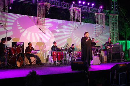 Nitin Mukesh Live at Lata Alankaran Samaroh in Indore