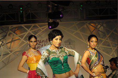 Rang Bandhej Fashion Show Event at Indore