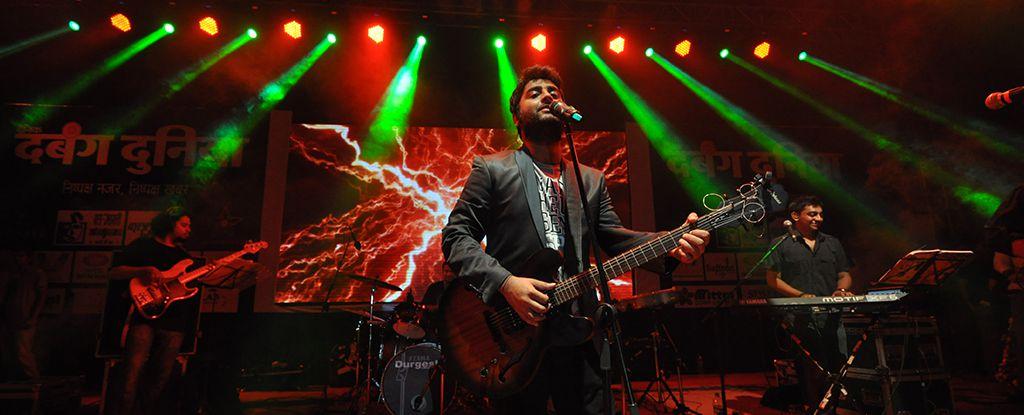 Arijit singh live concert in Indore, Madhya Pradesh, India