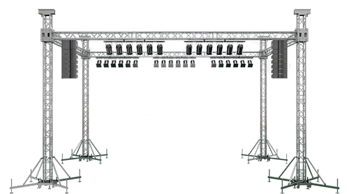 Rectangular Truss System on rental Indore