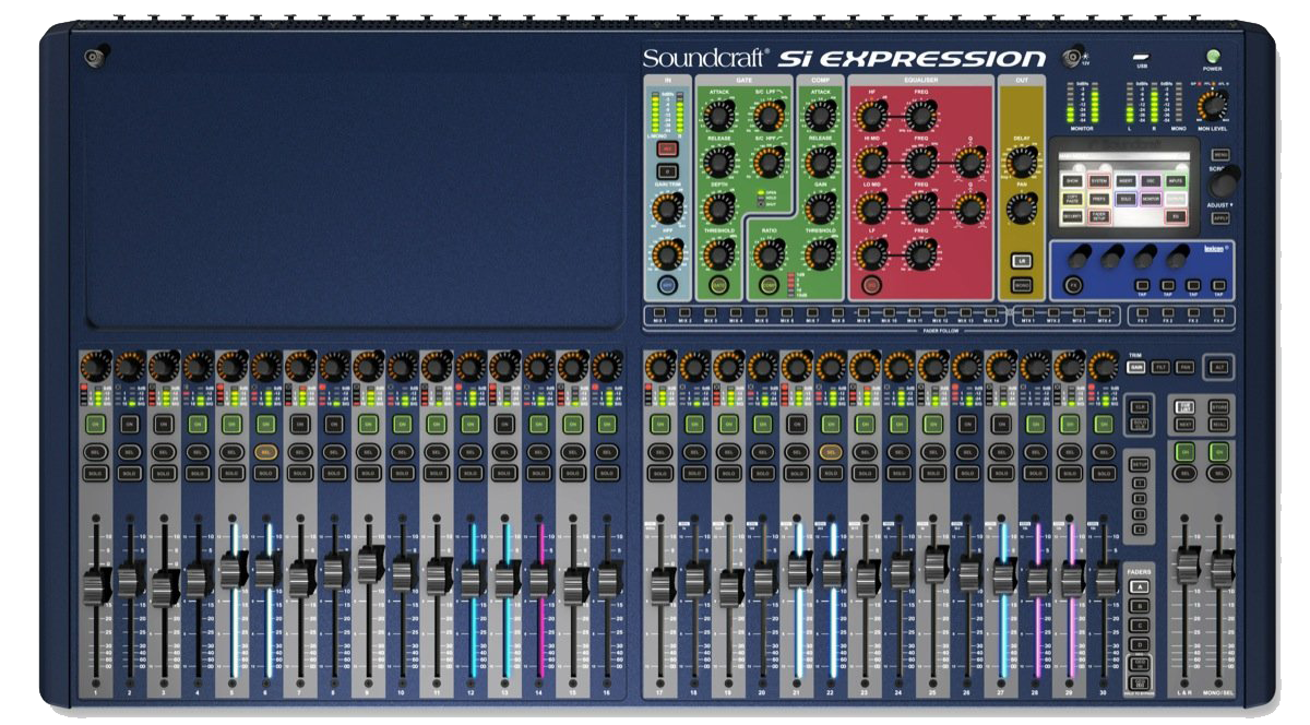 Sound craft Si Expression-3