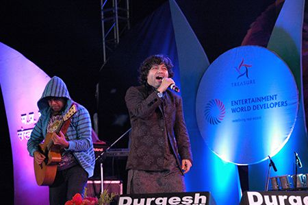 Kailash Kher live performance at Rashtriya Lata Alankaran