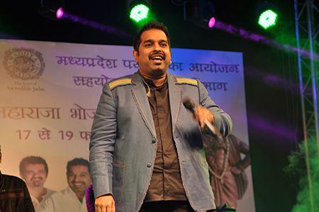 Shankar Mahadevan live concert at Raja Bhoj Utsav Bhopal